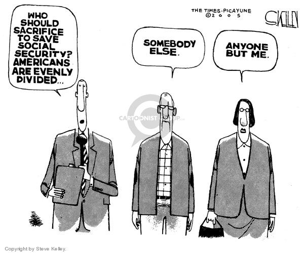 Steve Kelley  Steve Kelley's Editorial Cartoons 2005-02-15 opinion