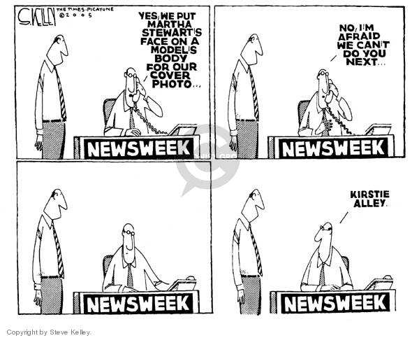 Cartoonist Steve Kelley  Steve Kelley's Editorial Cartoons 2005-03-04 Photoshop
