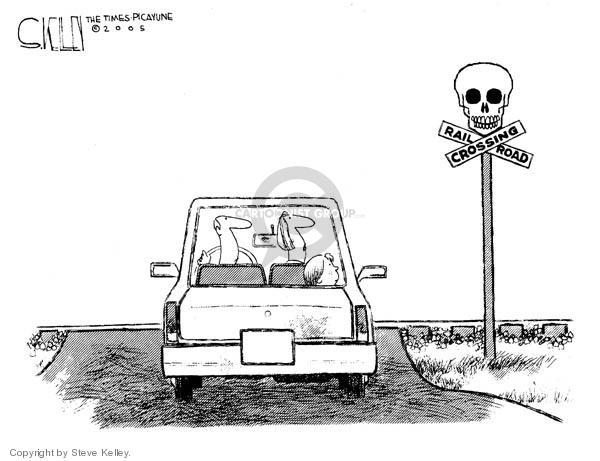 Steve Kelley  Steve Kelley's Editorial Cartoons 2005-03-08 death