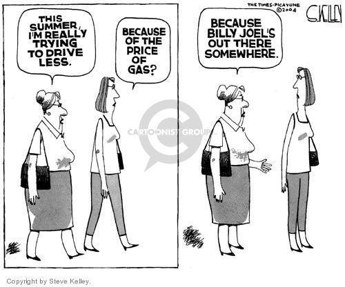 Cartoonist Steve Kelley  Steve Kelley's Editorial Cartoons 2004-04-29 automobile energy