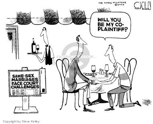Steve Kelley  Steve Kelley's Editorial Cartoons 2004-05-19 romance