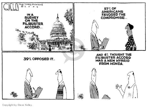 Steve Kelley  Steve Kelley's Editorial Cartoons 2005-05-25 percentage