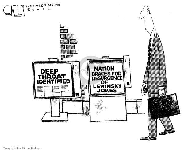 Steve Kelley  Steve Kelley's Editorial Cartoons 2005-06-01 media source