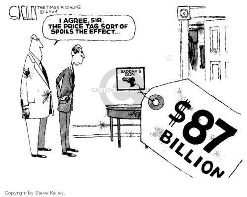 Cartoonist Steve Kelley  Steve Kelley's Editorial Cartoons 2004-04-06 sir