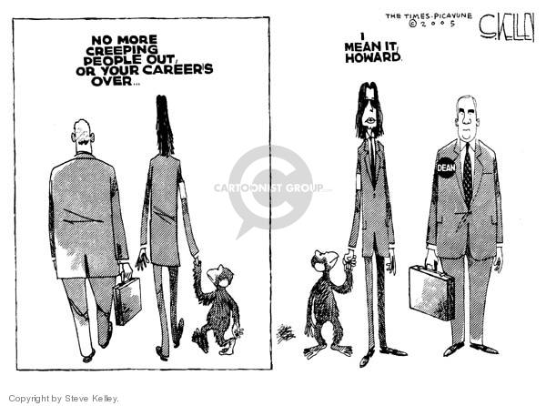 Cartoonist Steve Kelley  Steve Kelley's Editorial Cartoons 2005-06-15 weird