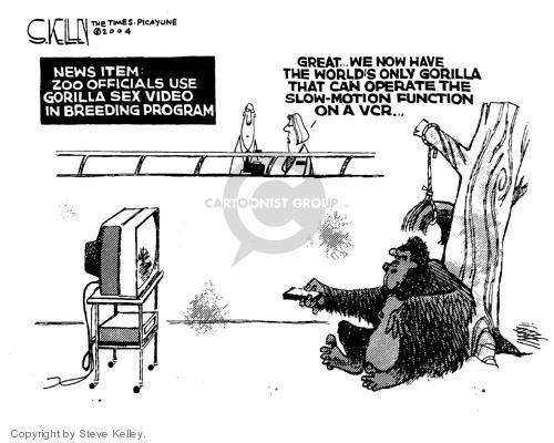 Cartoonist Steve Kelley  Steve Kelley's Editorial Cartoons 2004-06-22 technology