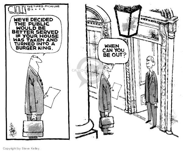 Cartoonist Steve Kelley  Steve Kelley's Editorial Cartoons 2005-06-28 fast food
