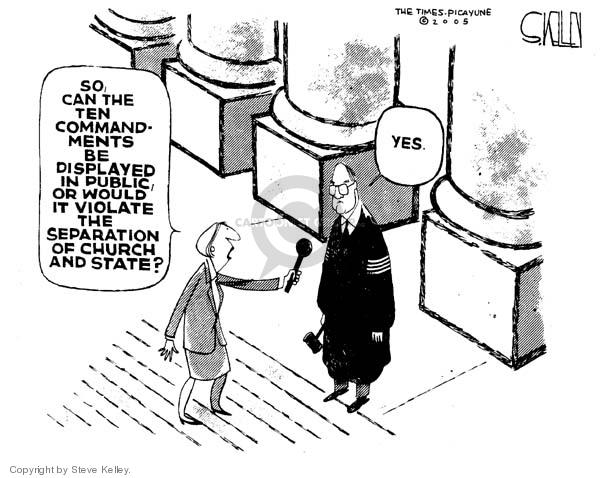 Steve Kelley  Steve Kelley's Editorial Cartoons 2005-06-28 civil liberty