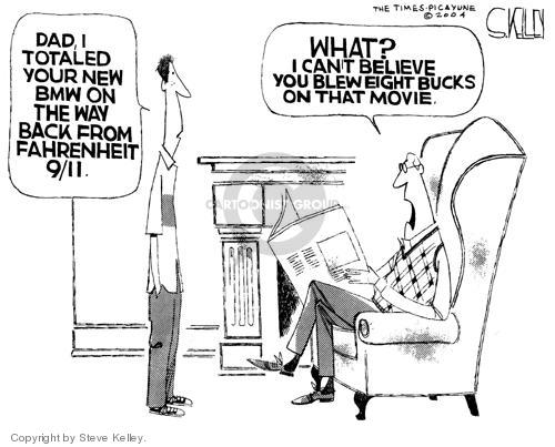 Cartoonist Steve Kelley  Steve Kelley's Editorial Cartoons 2004-07-06 documentary