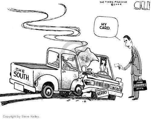 Steve Kelley  Steve Kelley's Editorial Cartoons 2004-07-07 south