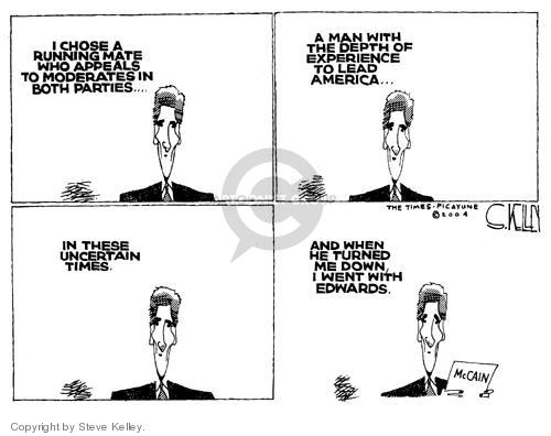 Steve Kelley  Steve Kelley's Editorial Cartoons 2004-07-08 selection