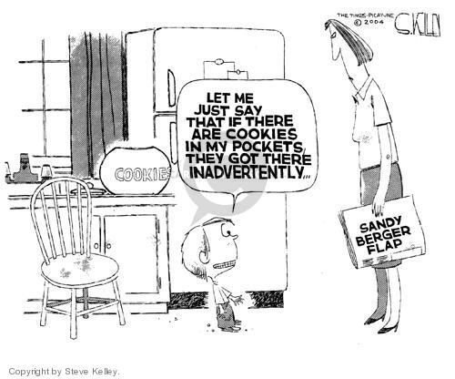 Cartoonist Steve Kelley  Steve Kelley's Editorial Cartoons 2004-07-22 cookie