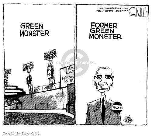 Steve Kelley  Steve Kelley's Editorial Cartoons 2004-07-27 environment