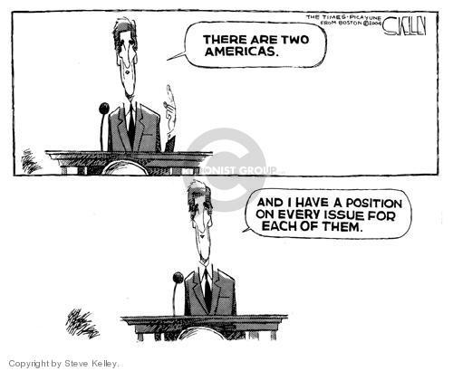 Cartoonist Steve Kelley  Steve Kelley's Editorial Cartoons 2004-07-30 flip