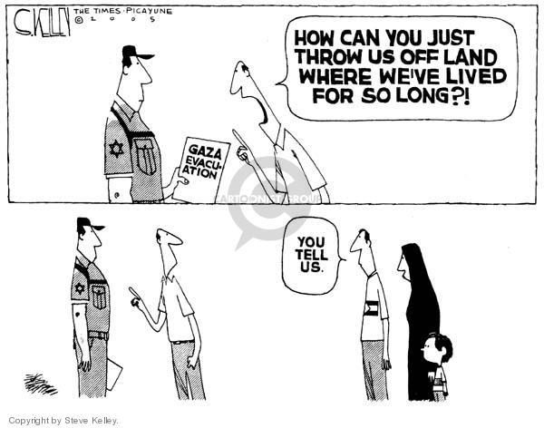Steve Kelley  Steve Kelley's Editorial Cartoons 2005-08-17 removal