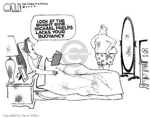 Steve Kelley  Steve Kelley's Editorial Cartoons 2004-08-19 2004 Olympics