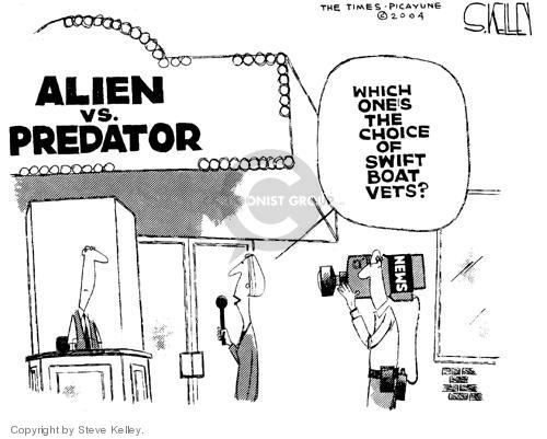 Cartoonist Steve Kelley  Steve Kelley's Editorial Cartoons 2004-08-24 film