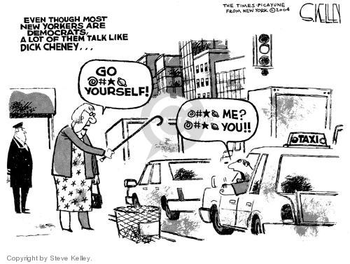 Steve Kelley  Steve Kelley's Editorial Cartoons 2004-08-31 vice