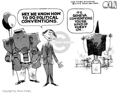Steve Kelley  Steve Kelley's Editorial Cartoons 2004-09-02 human rights