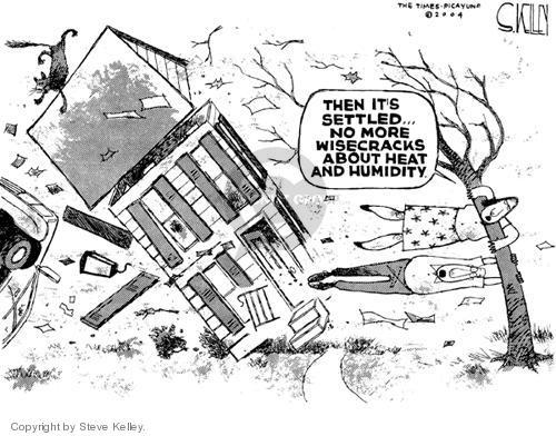Steve Kelley  Steve Kelley's Editorial Cartoons 2004-09-16 hot