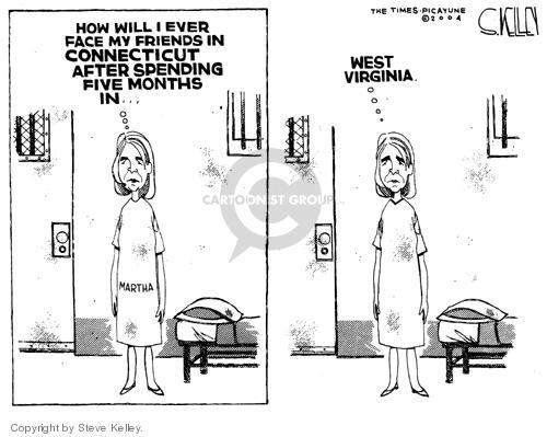 Steve Kelley  Steve Kelley's Editorial Cartoons 2004-10-07 prisoner