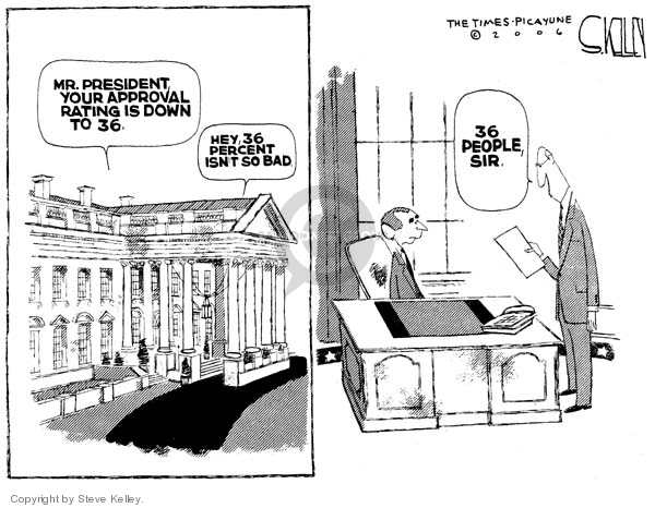Steve Kelley  Steve Kelley's Editorial Cartoons 2006-11-15 percentage
