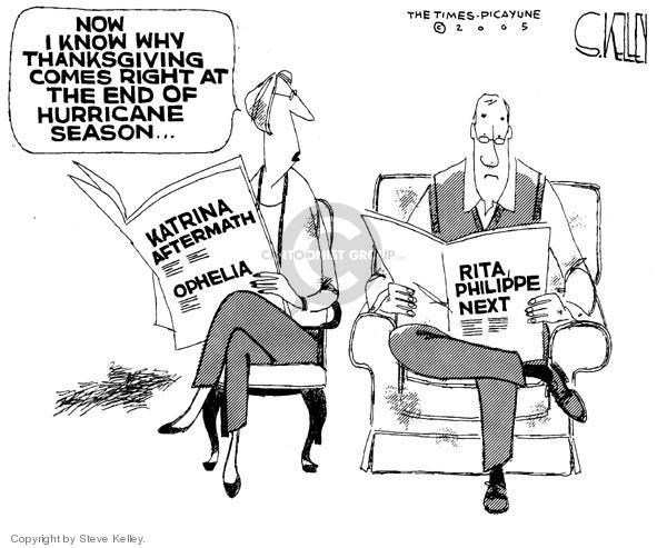 Steve Kelley  Steve Kelley's Editorial Cartoons 2005-09-20 holiday season