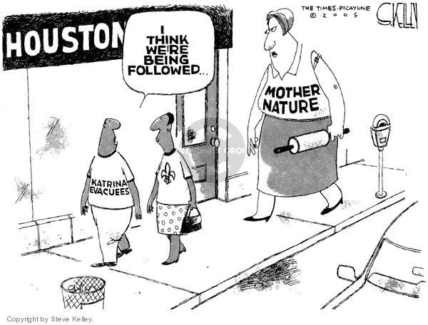 Steve Kelley  Steve Kelley's Editorial Cartoons 2005-09-22 Texas