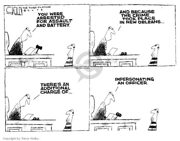 Steve Kelley  Steve Kelley's Editorial Cartoons 2005-10-11 corruption