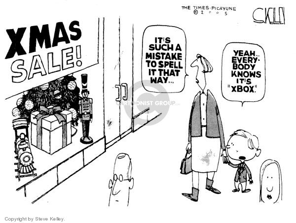 Cartoonist Steve Kelley  Steve Kelley's Editorial Cartoons 2005-11-25 player