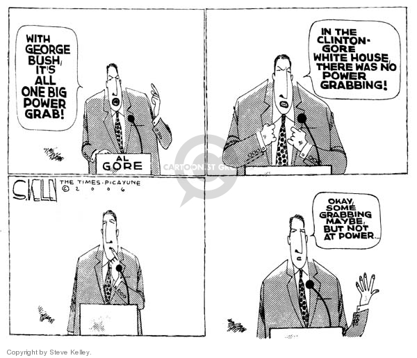 Steve Kelley  Steve Kelley's Editorial Cartoons 2006-01-19 civil liberty
