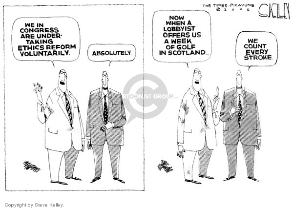 Steve Kelley  Steve Kelley's Editorial Cartoons 2006-01-20 special