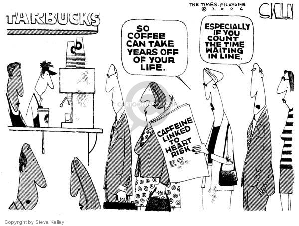 Cartoonist Steve Kelley  Steve Kelley's Editorial Cartoons 2006-03-10 cardiac