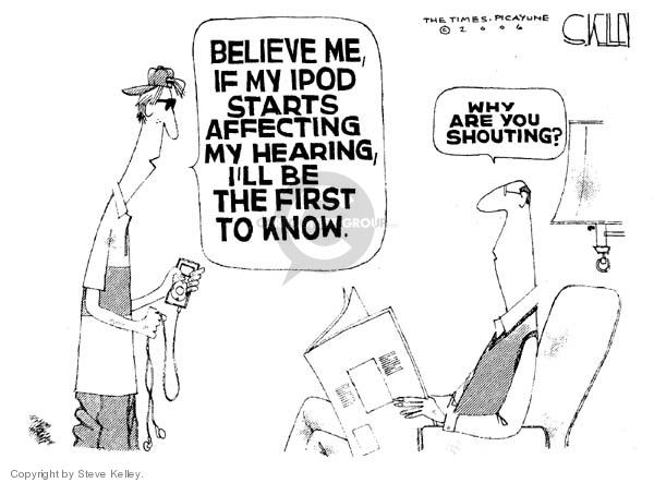 Cartoonist Steve Kelley  Steve Kelley's Editorial Cartoons 2006-03-17 technology