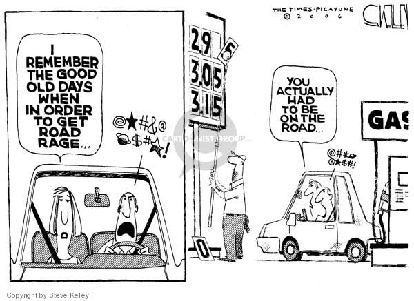 Cartoonist Steve Kelley  Steve Kelley's Editorial Cartoons 2006-05-01 rage