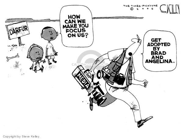Steve Kelley  Steve Kelley's Editorial Cartoons 2006-05-10 human rights