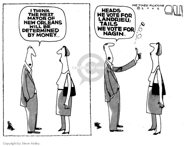 Cartoonist Steve Kelley  Steve Kelley's Editorial Cartoons 2006-05-18 flip