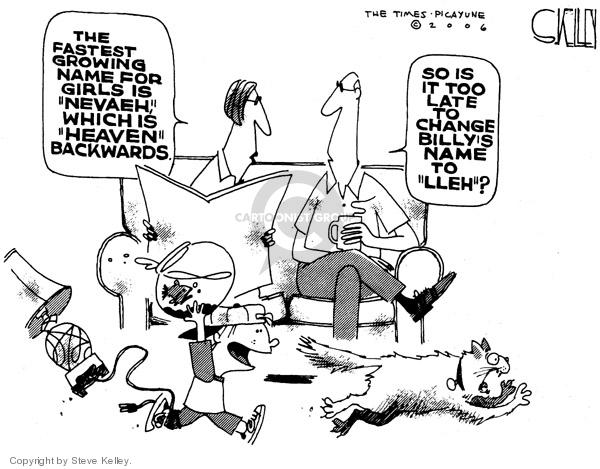 Cartoonist Steve Kelley  Steve Kelley's Editorial Cartoons 2006-05-19 change