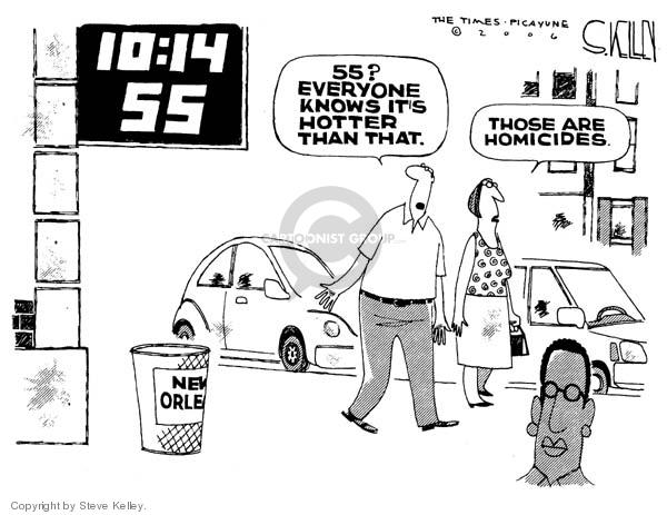 Cartoonist Steve Kelley  Steve Kelley's Editorial Cartoons 2006-06-22 heat