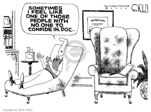 Cartoonist Steve Kelley  Steve Kelley's Editorial Cartoons 2006-06-26 mental