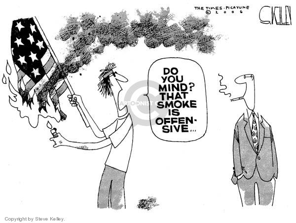 Steve Kelley  Steve Kelley's Editorial Cartoons 2006-06-28 corruption