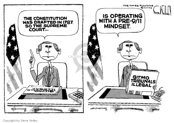 Cartoonist Steve Kelley  Steve Kelley's Editorial Cartoons 2006-06-30 Constitution