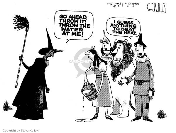 Steve Kelley  Steve Kelley's Editorial Cartoons 2006-07-25 hot