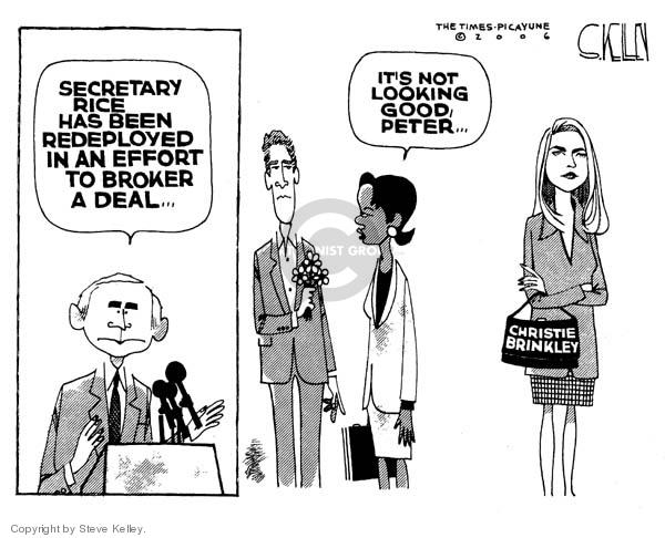 Steve Kelley  Steve Kelley's Editorial Cartoons 2006-07-28 Peter
