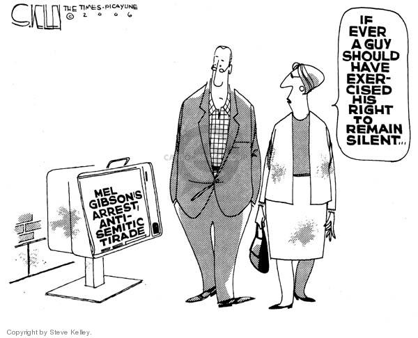 Cartoonist Steve Kelley  Steve Kelley's Editorial Cartoons 2006-08-01 rights