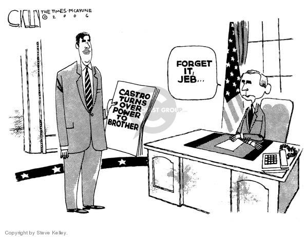 Steve Kelley  Steve Kelley's Editorial Cartoons 2006-08-04 vice