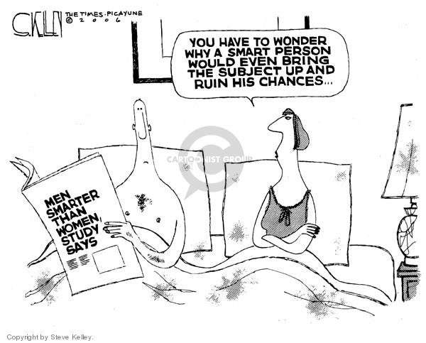 Steve Kelley  Steve Kelley's Editorial Cartoons 2006-09-15 female