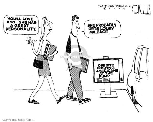 Cartoonist Steve Kelley  Steve Kelley's Editorial Cartoons 2006-10-27 energy