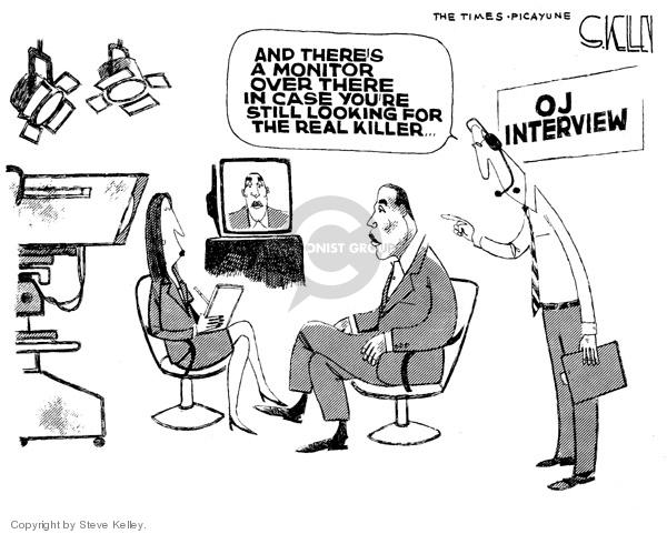 Cartoonist Steve Kelley  Steve Kelley's Editorial Cartoons 2006-11-16 killer
