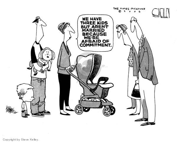 Steve Kelley  Steve Kelley's Editorial Cartoons 2006-11-23 political family